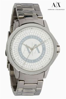Armani Exchange Stainless Steel Classic Watch