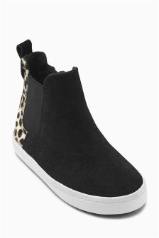 Casual Chelsea Boots (Younger Girls)
