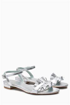 Frill Sandals