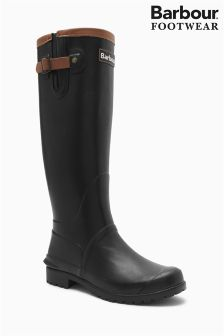 Barbour® Black Wellington Boot