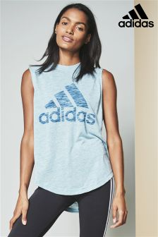 adidas Green Winners Tank