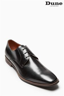 Dune Black Hi Shine Richmonds Derby Lace Shoe