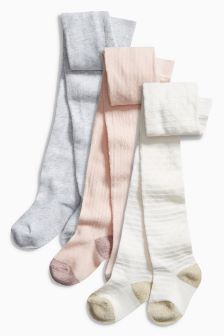 Pretty Tights Three Pack (0mths-6yrs)