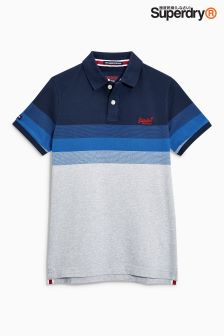 Superdry Longbeach Stripe Polo