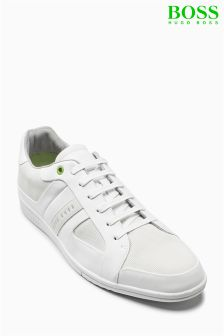 Boss Green White Metro Cupsole Trainer