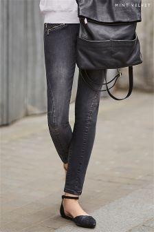 Mint Velvet Phoenix Biker Skinny Jean