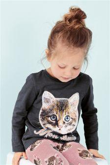 Cat T-Shirt (3mths-6yrs)