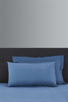 Set Of 2 Easy Care Pillowcases