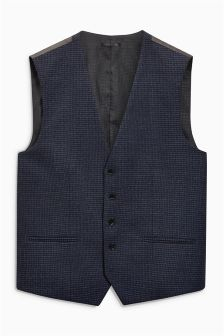Gingham Waistcoat