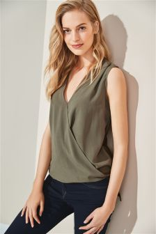 Drape Shell Top