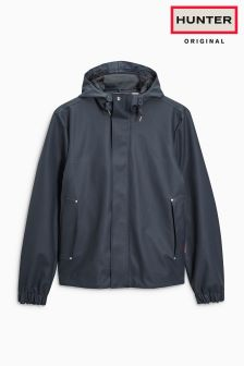 Hunter Origianl Navy Rubberised Jacket