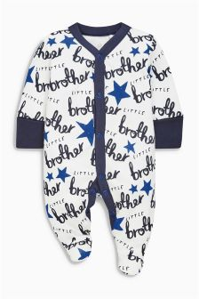 Little Brother Sleepsuit (0-18mths)