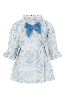 Joules Rita Navy Stripe Dressing Gown