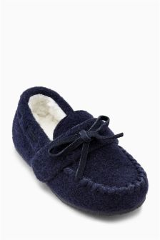 Moccasin Slippers (Younger Boys)