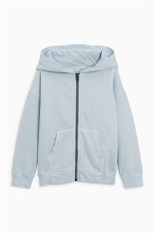 Zip Through Hooded Top (3-16yrs)