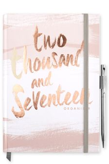 2017 Diary And Organiser With Pen
