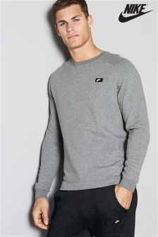 Nike Carbon Heather Grey Modern Crew