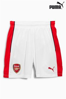 Puma® White Arsenal 2016/17 Home Short