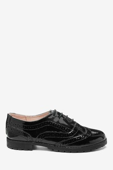 Chunky Brogues (Older Girls)