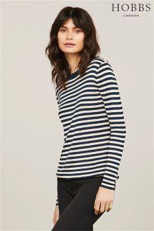 Hobbs Gold/Navy Tara Sweater