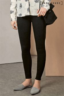 Warehouse Black Skinny Cut Jean