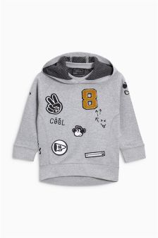 Badged Hoody (3mths-6yrs)