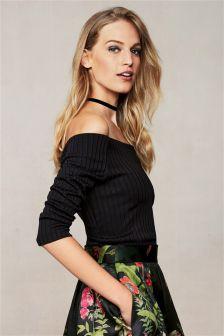Bardot Long Sleeve Top