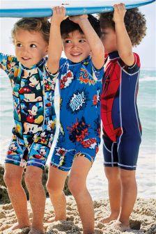 POW! Sunsafe Suit (3mths-6yrs)