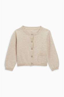 Button Through Cardigan (3mths-6yrs)