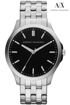 Armani Exchange LP Silver Watch