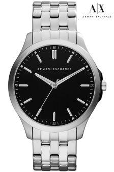 Armani Exchange LP Silver Watch