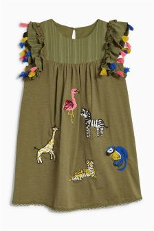 Embroidered Dress (3mths-6yrs)
