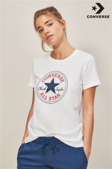 Converse White Core Chuck Patch Crew Tee