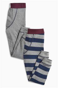 Stripe Leggings Two Pack (2-16yrs)