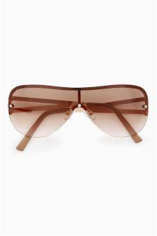 Visor Style Sunglasses