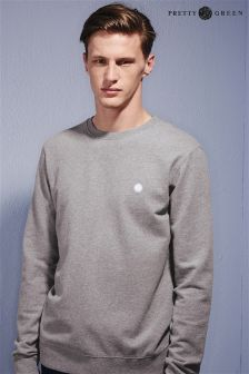 Pretty Green Grey Crew Neck Sweat