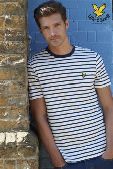 Lyle and Scott Stripe T-Shirt