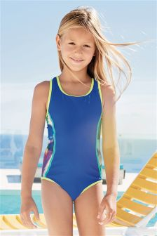 Colourblock Swimsuit (3-16yrs)