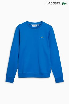 Lacoste® Blue Crew Neck Sweatshirt