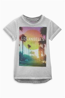 Grey Los Angeles T-Shirt (3-16yrs)