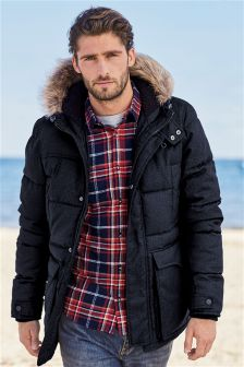 Mens Peacoats, Macs & Overcoats | Mens Winter Coats | Next UK
