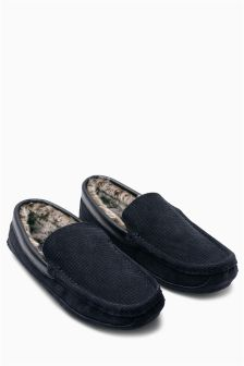 Luxury Textured Moccasin