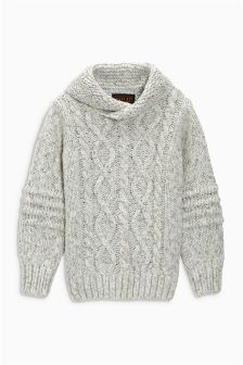 Shawl Collar Jumper (3-16yrs)