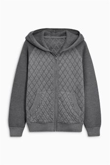 Quilted Zip Through (3-16yrs)