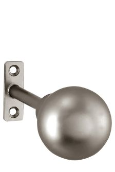 Set Of 2 Brushed Silver Ball Bar