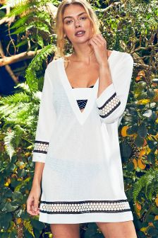 Figleaves White Icon Beach Tunic