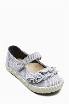 Mary Jane Ruffle Pumps (Younger Girls)