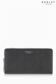 Radley® Black Arlington Large Zip Around Matinee Purse