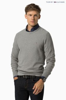 Tommy Hilfiger Grey Pre Twisted Ricecorn Sweater