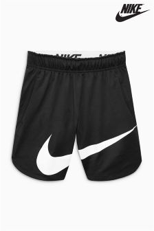 Nike Black Swoosh Training Short